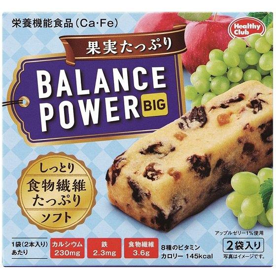 バランスパワービッグ 果実たっぷり 2袋(4本)