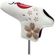Japan ヘッドカバー ピンパター用 ホワイト