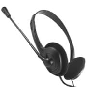 ANS-PF057BK [PlayStation 4/PlayStation 3用 ヘッドセット シンプル ブラック]