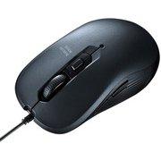 MA-BL114GM [有線 ブルーLED マウス ガンメタ]