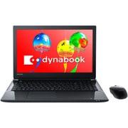 PT75GBD-BEA2 [ノートパソコン dynabook Tシリーズ ヨドバシオリジナルモデル 15.6型/Core i7 8550U/メモリ 8GB/1TBハイブリッドHDD/ブルーレイディスク/Windows10 HOME 64Bit/Office Home&Business 2016/プレシャスブラック]