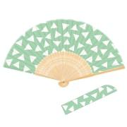 702 Wamon 日本の紋様シリーズ 三角 [扇子]