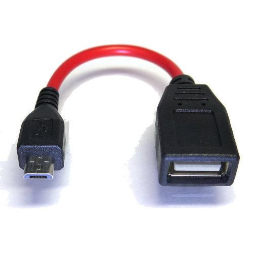 SG-UMSCBH05R [USB2.0 microB ホスト(OTG)ケーブル 5cm]