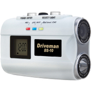 Driveman BS-10 White body [高機能ヘルメット装着型バイク用ドライブレコーダー]