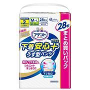 うす型パンツ下着安心プラス M~L 28枚 [介護排泄用品]
