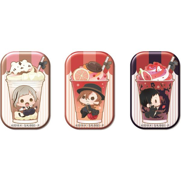 キャラペチーノ缶「文豪ストレイドッグス 」vol.2 缶バッジAセット [キャラクターグッズ]