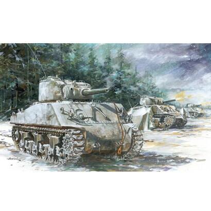 DR7569 [WWII アメリカ軍 M4A3 (105mm) VVSS シャーマン 1/72 ミリタリーシリーズ]
