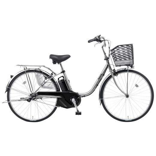 BE-ELSX63S [電動アシスト自転車 ビビ・SX 26型 内装3段変速 8.0Ah 2018年モデル モダンシルバー]