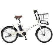 BE-ELGL033F [電動アシスト自転車 グリッター 20型 内装3段変速 12.0Ah 2018年モデル ココモミルク]
