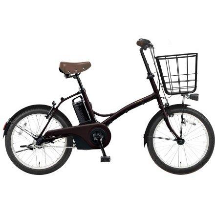 BE-ELGL033T2 [電動アシスト自転車 グリッター 20型 内装3段変速 12.0Ah 2018年モデル マットダークブラウン]