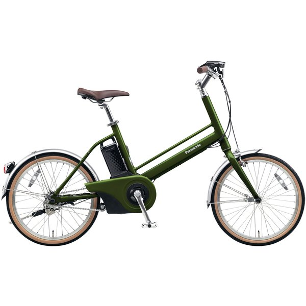 BE-JELJ01AG [電動アシスト自転車 Jコンセプト 20型 変速なし 12.0Ah 2018年モデル エバーグリーン]