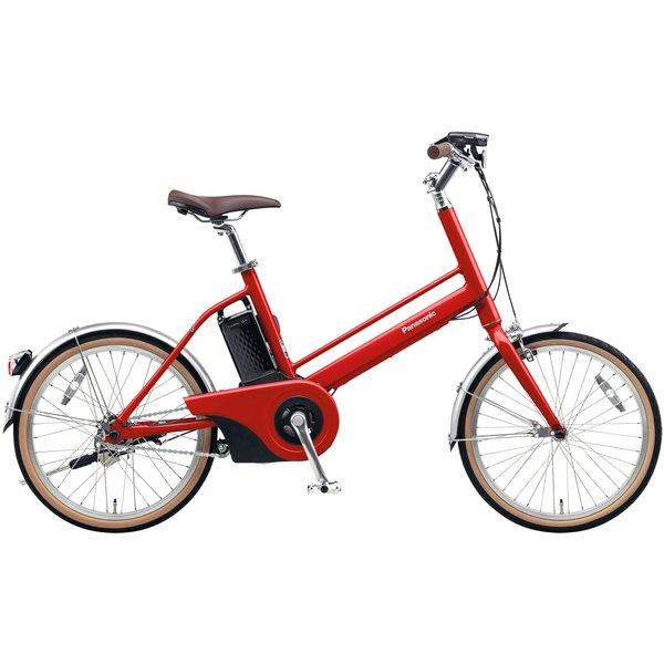 BE-JELJ01AR [電動アシスト自転車 Jコンセプト 20型 変速なし 12.0Ah 2018年モデル レッドリーブス]