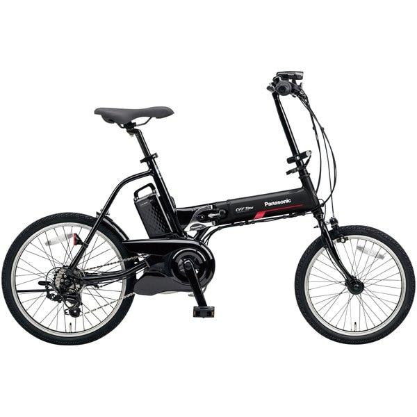 BE-ELW072AB2 [電動アシスト自転車 オフタイム 18/20型 外装7段変速 2018年モデル マットナイト/ブラック]