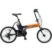 BE-ELW072AK [電動アシスト自転車 オフタイム 18/20型 外装7段変速 2018年モデル オレンジ/ブラック]