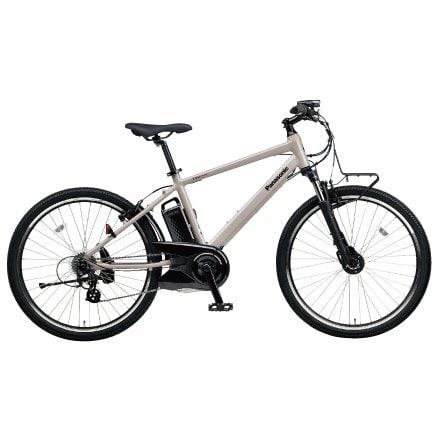 BE-ELH242BN [電動アシスト自転車 ハリヤ 26型 外装7段変速 2018年モデル ストーングレー]