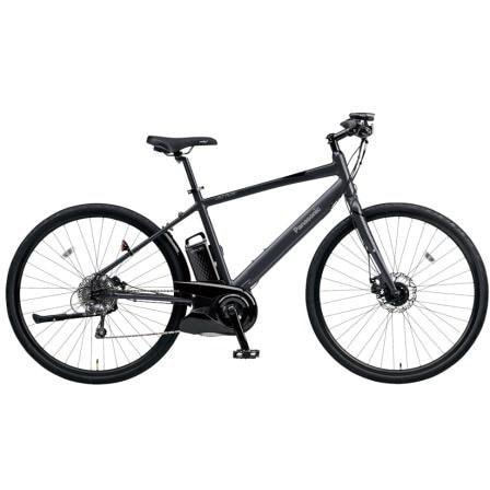 BE-ELHC49AB [電動アシスト自転車 ジェッター490 700×38C 外装8段変速 2018年モデル マットチャコールブラック]