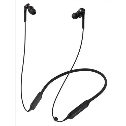 ATH-CKS770XBT BK [Bluetooth ワイヤレスヘッドホン ネックバンド型 ブラック]