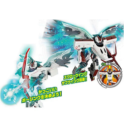 新幹線変形ロボ シンカリオン THE ANIMATION DXSシリーズ 07 800 つばめ [対象年齢:3歳~]