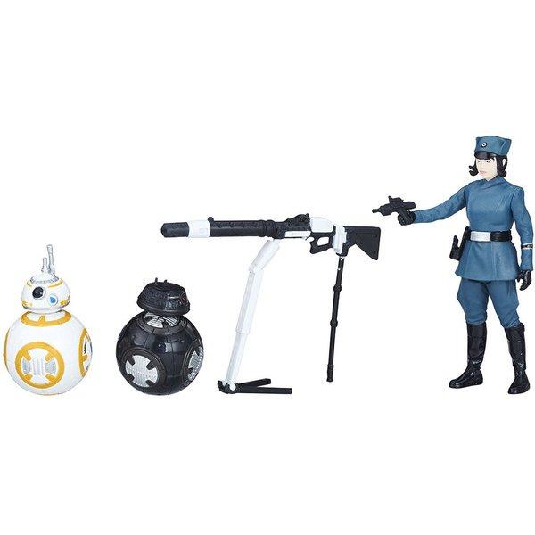 スター・ウォーズ ベーシックフィギュア 3パック BB-8&BB-9E&ローズ(ファーストオーダーVer.) [対象年齢:4歳~]