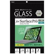 TBF-SFP17GFLS [Surface Pro 2017年用 ガラスフィルム 光沢指紋防止]