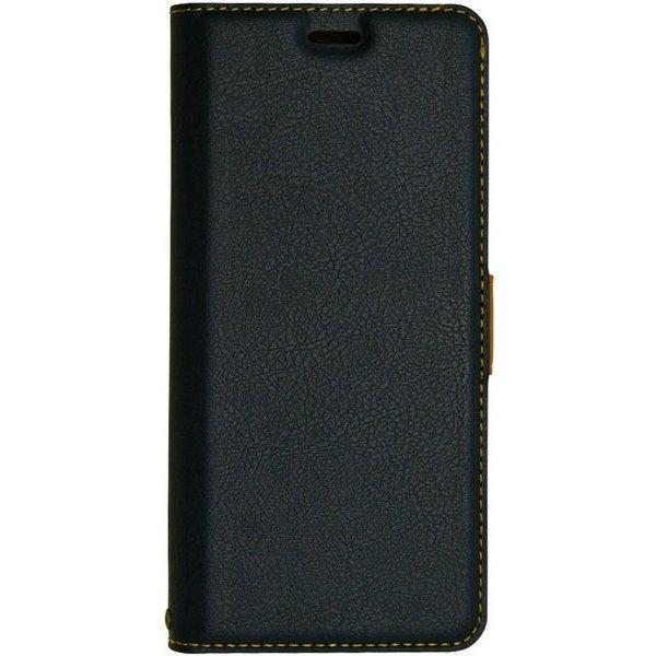 4002GS9 [Galaxy S9 薄型 手帳型ケース サイドマグネット NV×BR]