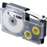CTC-CXR9WE [ネームランド用互換テープ 白テープ/黒文字 8m 9mm幅]