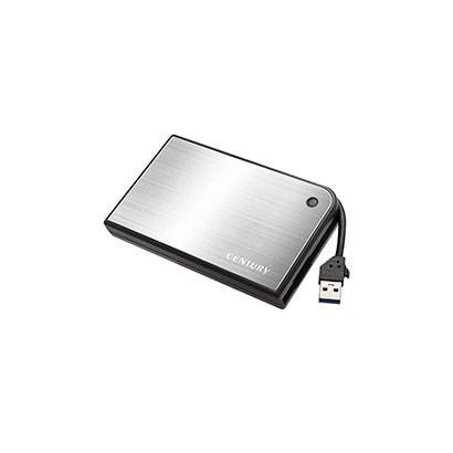 CMB25U3SV6G 2.5インチSATA用ケース シルバー [2.5インチSATA HDD/SSD専用ケース USB3.0接続/SATA6G対応 シルバー × ブラック]