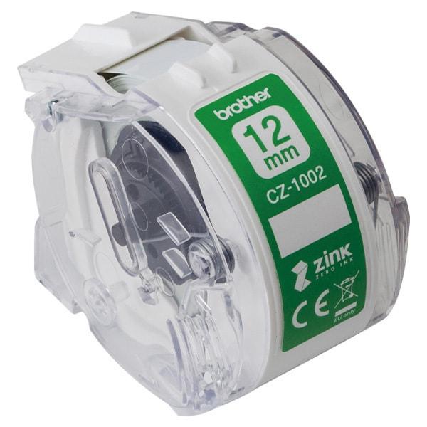 CZ-1002 [感熱フルカラーラベルプリンター用ロールカセット 幅12mm/長さ5m]