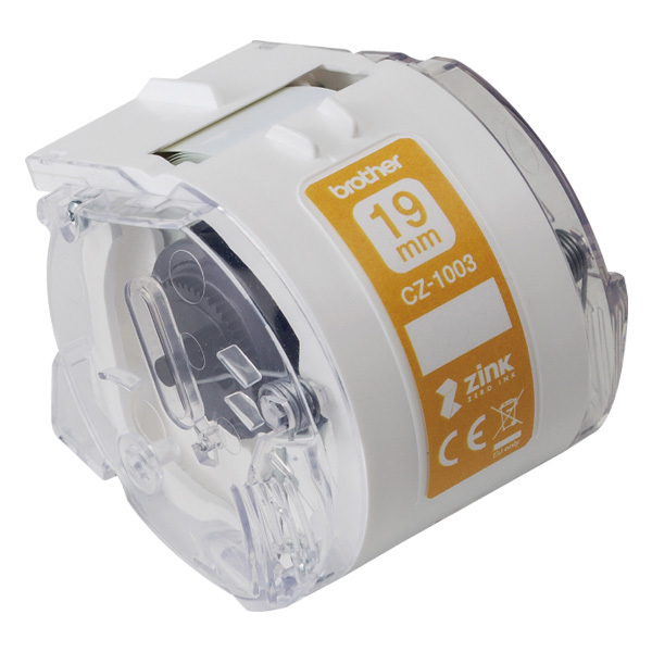 CZ-1003 [感熱フルカラーラベルプリンター用ロールカセット 幅19mm/長さ5m]