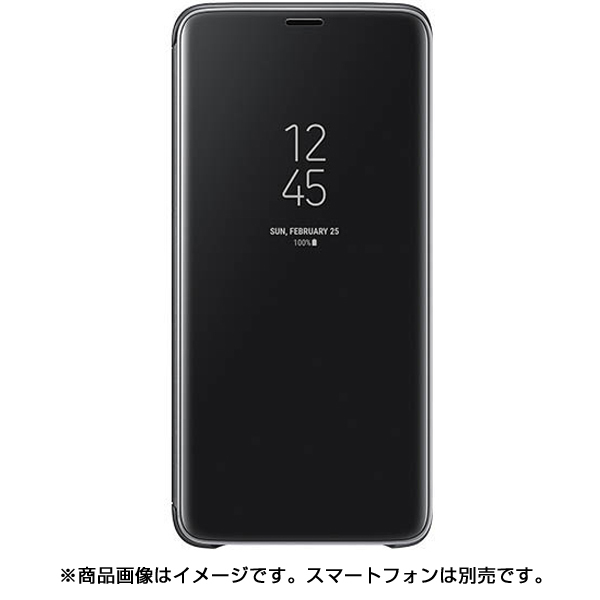 EF-ZG965CBEGJP [Galaxy S9+ Clear View Standing Black]