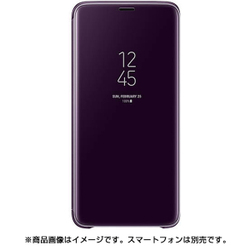 EF-ZG965CVEGJP [Galaxy S9+ Clear View Standing Purple]