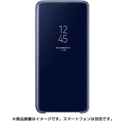 EF-ZG965CLEGJP [Galaxy S9+ Clear View Standing Blue]