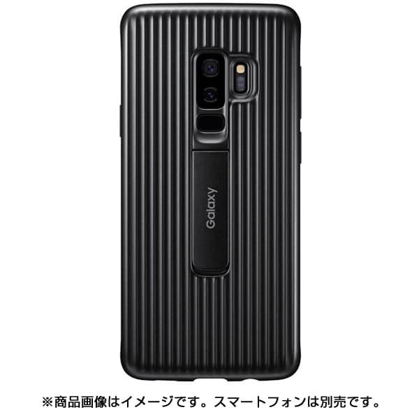 EF-RG965CBEGJP [Galaxy S9+ Protective Standing Cover Black]