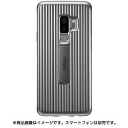 EF-RG965CSEGJP [Galaxy S9+ Protective Standing Cover Silver]
