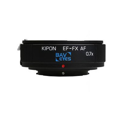 KIPON BAVEYESEFFXAF EF-FX AF 0.7x [KIPON製 富士フイルムXマウント対応 電子接点付きAF機能搭載マウントアダプター]