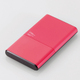 DE-M06-N5024PN [モバイルバッテリー/リチウムイオン電池/おまかせ充電対応/Pile one/5000mAh/2.4A/PSE適合/ピンク]