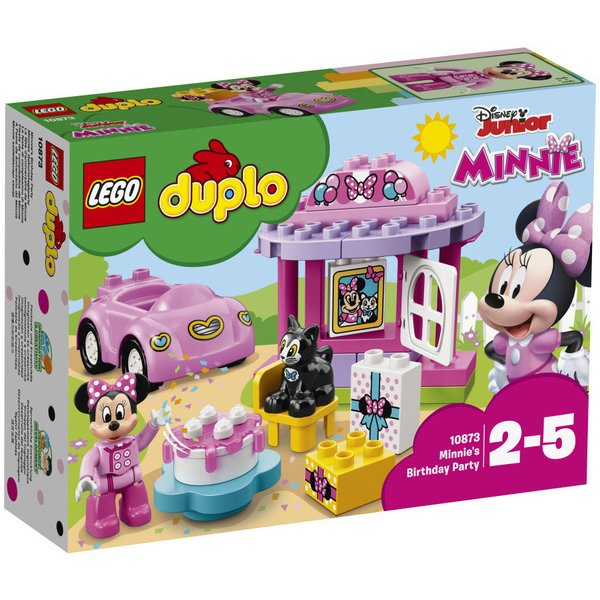 10873 [レゴ デュプロ ディズニー ミニーのお誕生日パーティー 対象年齢:2~5歳]