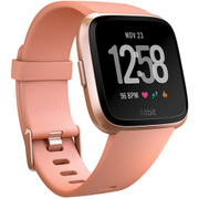 FB505RGPK-CJK [Fitbit(フィットビット) スマートウォッチ Versa Peach/Rose Gold Aluminum L/Sサイズ]