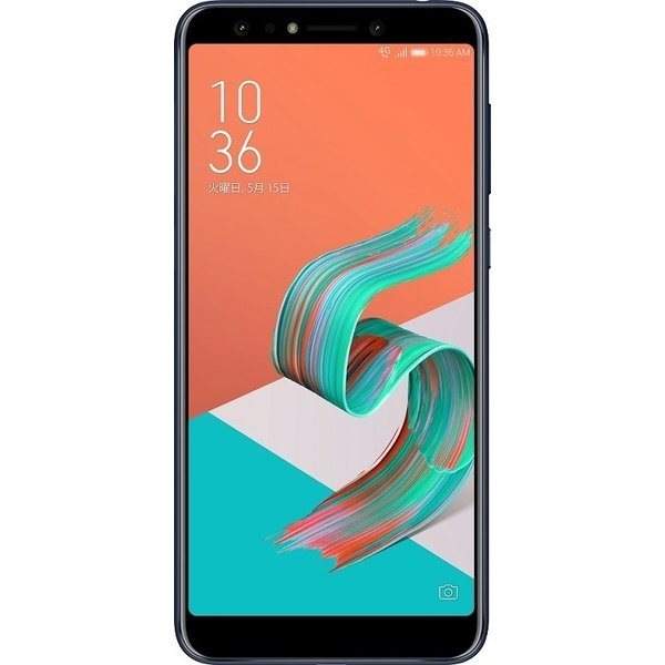 ZC600KL-BK64S4 [Zenfone 5Q Series 6インチ 2160×1080(フルHD+) /Android 7.1/Qualcomm Snapdragon 630/RAM 4GB/eMMC 64GB/802.11ac/BT4.2/LTE対応/指紋センサー/ミッドナイトブラック]