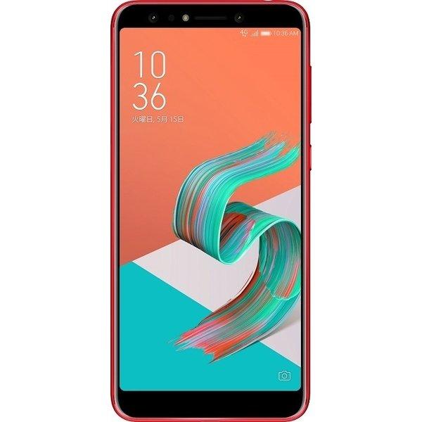 ZC600KL-RD64S4 [Zenfone 5Q Series 6インチ 2160x1080(フルHD+) /Android 7.1/Qualcomm Snapdragon 630/RAM 4GB/eMMC 64GB/802.11ac/BT4.2/LTE対応/指紋センサー/ルージュレッド]