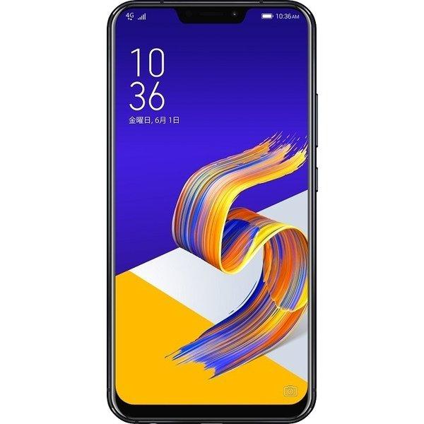 ZS620KL-BK128S6 [Zenfone 5Z Series 6.2インチ 2246×1080(フルHD+) /Android 8.0/Qualcomm Snapdragon 845/RAM 6GB/ストレージ128GB/802.11ac/Blutooth5.0/LTE対応/指紋センサー/シャイニーブラック]