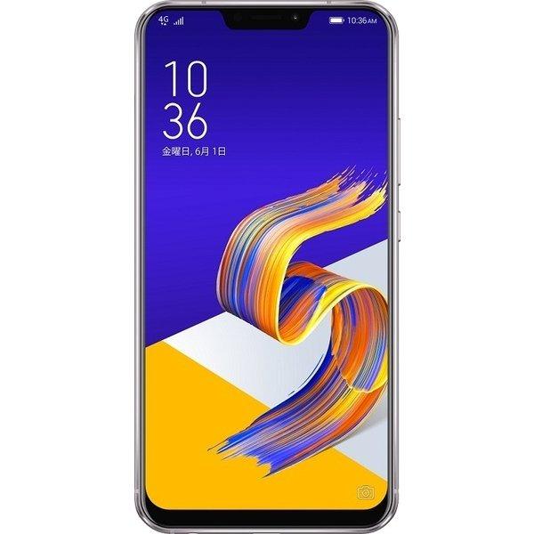 ZS620KL-SL128S6 [Zenfone 5Z Series 6.2インチ 2246×1080(フルHD+) /Android 8.0/Qualcomm Snapdragon 845/RAM 6GB/ストレージ128GB/802.11ac/Blutooth5.0/LTE対応/指紋センサー/スペースシルバー]
