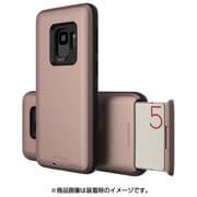 MN89739S9 [Galaxy S9 ケース CARDLA SLOT ローズピンク]