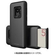 MN89741S9 [Galaxy S9 ケース CARDLA SLOT メタリックグレー]