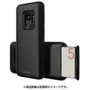 MN89742S9 [Galaxy S9 ケース CARDLA SLOT カーボンブラック]