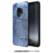 MN89762S9 [Galaxy S9 ケース PINTA JEANS COLLECTION ライトジーンズ]