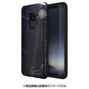 MN89763S9 [Galaxy S9 ケース PINTA JEANS COLLECTION ダークジーンズ]