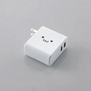 MPA-ACUQ02WF [AC充電器 USB2ポート QC3.0+2.4A ホワイトフェイス]