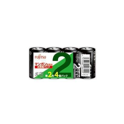 R14PU(4S) [マンガン乾電池 単2形 1.5V 4個パック]