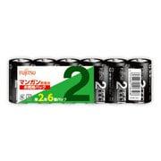 R14PU(6S) [マンガン乾電池 単2形 1.5V 6個パック]